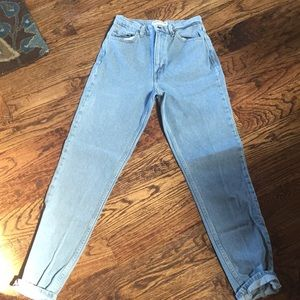 American Apparel High-Waste Jean